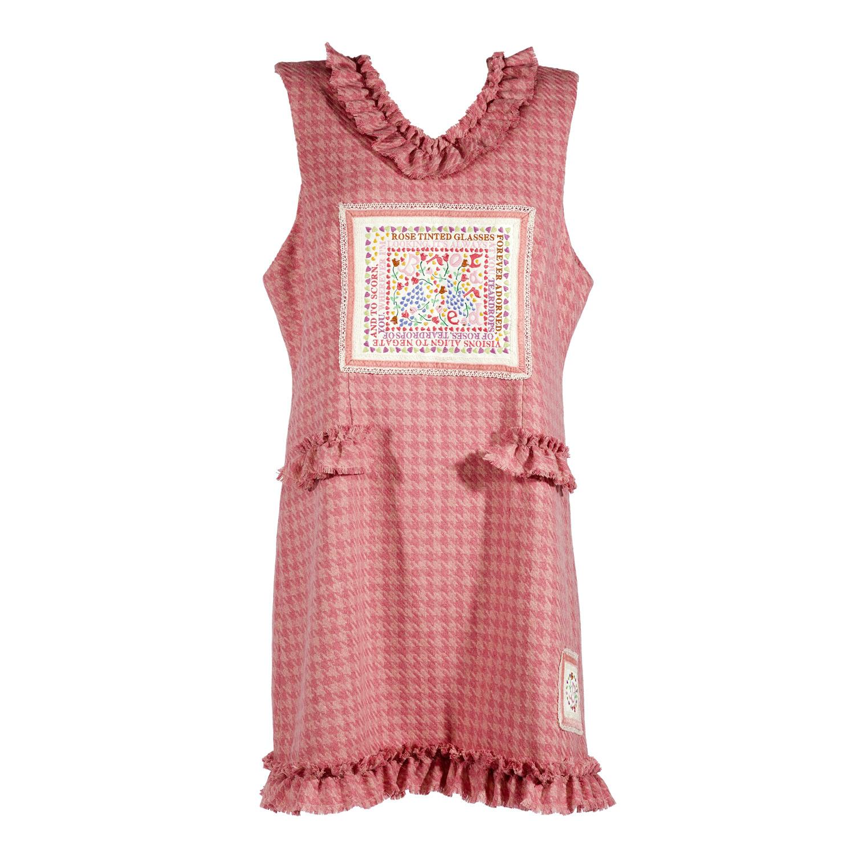 Rose Tinted Glasses Pinafore Dress