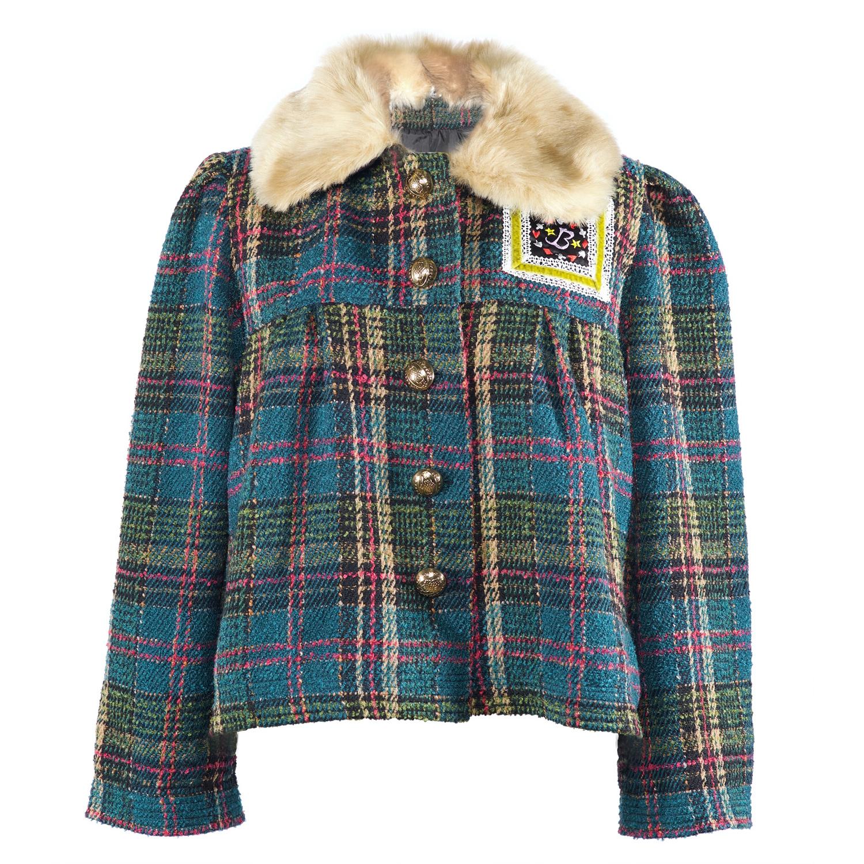 Shattered Illusions Boucle Jacket