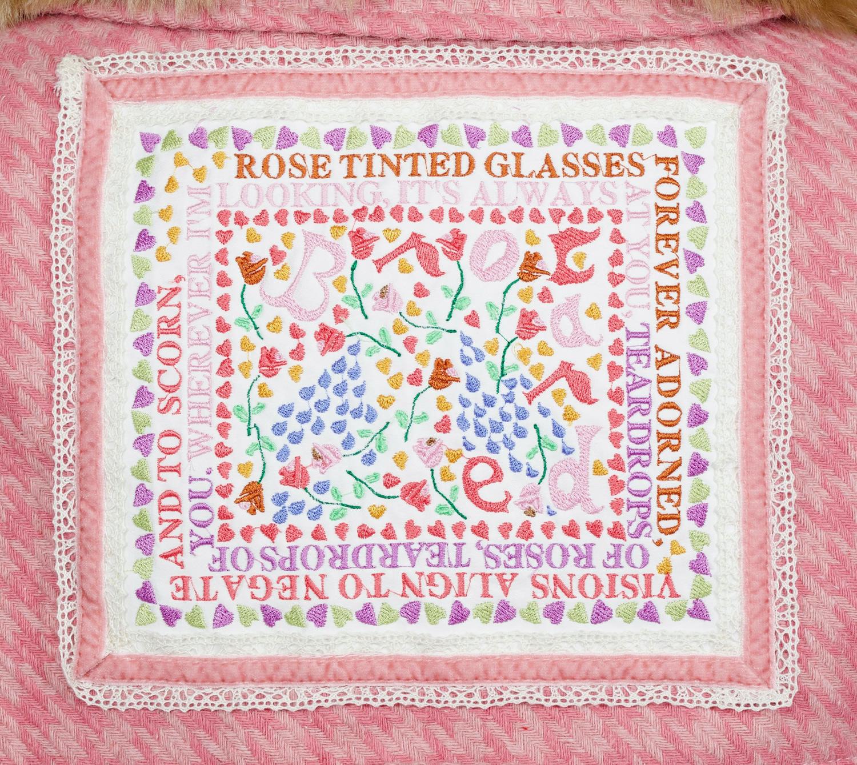 Rose Tinted Glasses Tweed Coat