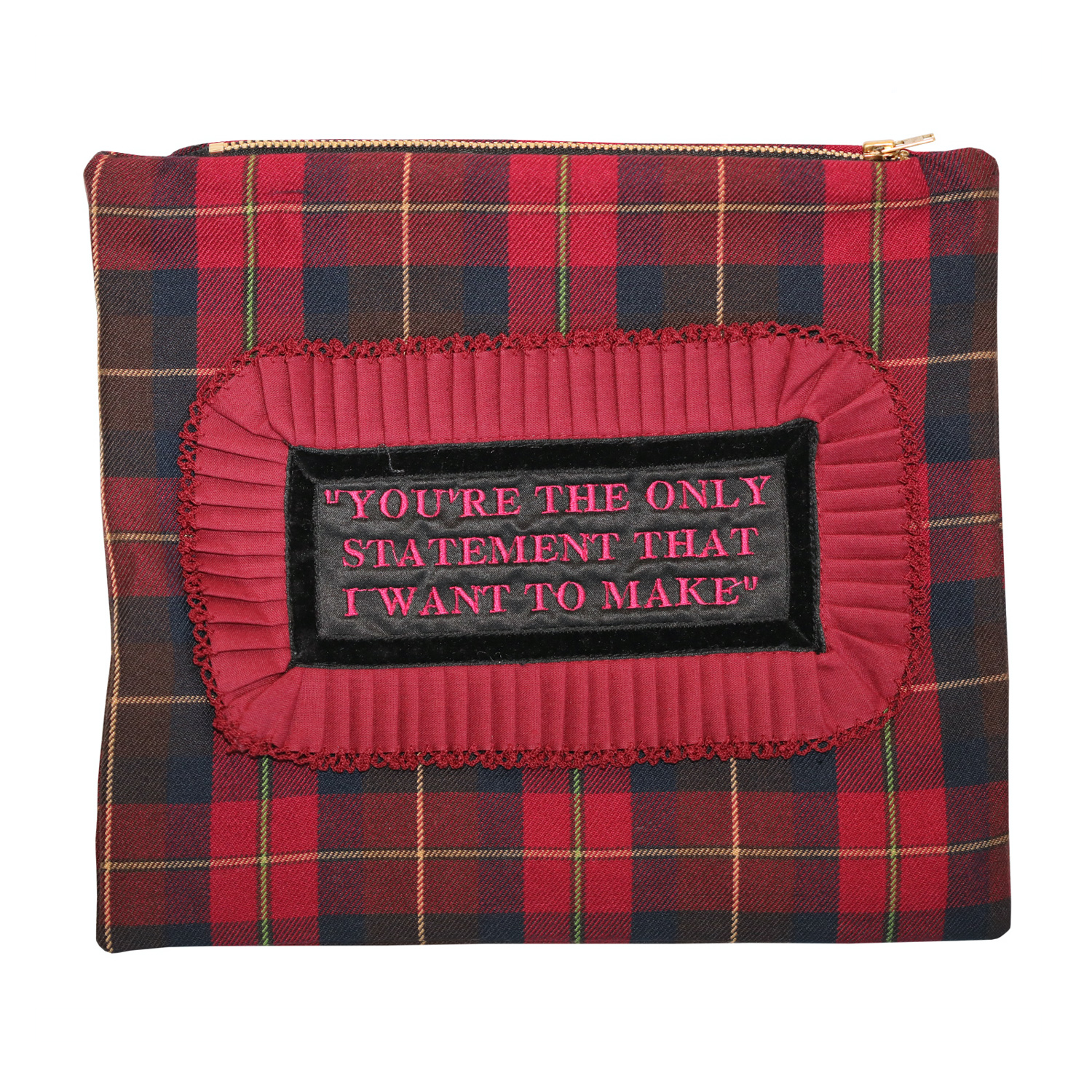 You're The Only Statement Clutch Bag