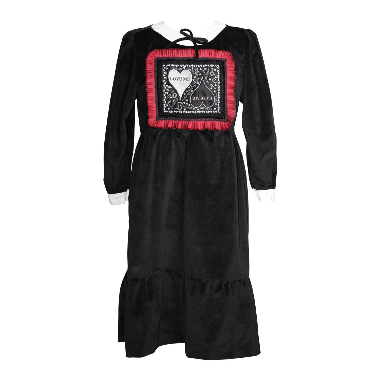 Love Me Hate Me Bowtie Dress