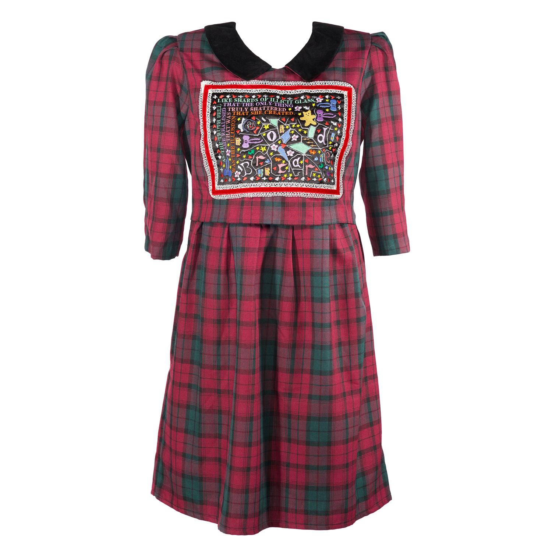 Shattered Illusions Tartan Dress