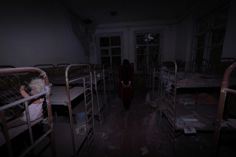Brocarde in Abandoned School in Chernobyl