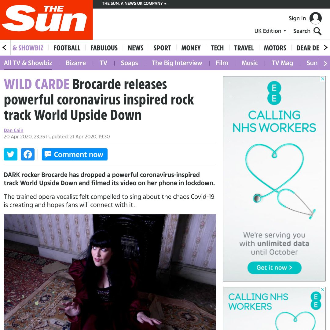 brocarde in the sun newspaper