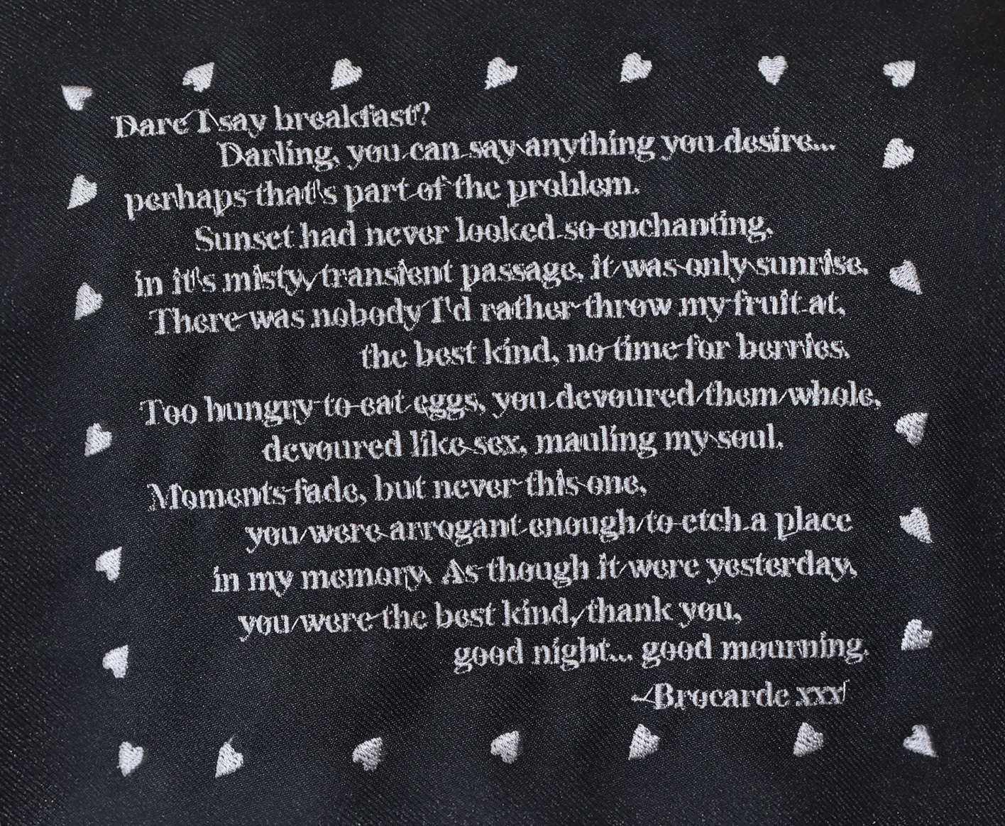 Good Mourning Pinafore Dress